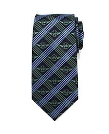 Yoda Plaid Men's Tie