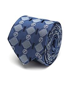 Avengers Argyle Men's Tie