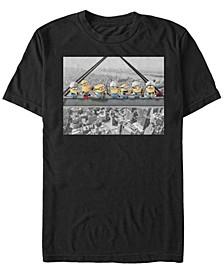 Minions Men's But First Lunch Short Sleeve T-Shirt