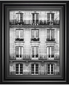 Across The Street by Laura Marshall Framed Print Wall Art Collection