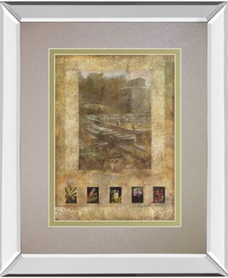 Botany Journal II by Kemp Mirror Framed Print Wall Art, 34