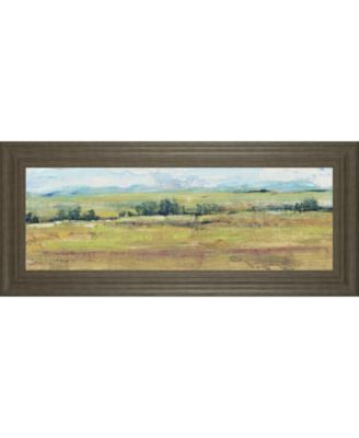 Distant Treeline Panel I by Tim Otoole Framed Print Wall Art - 18
