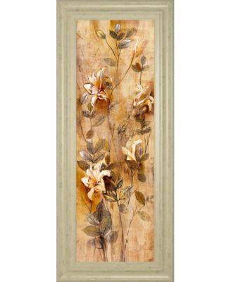 Candlelight Lilies II by Douglas Framed Print Wall Art, 18