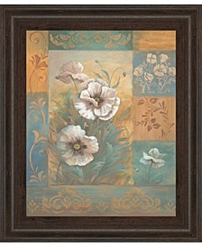 Pam's Poppies by Vivian Flasch Framed Print Wall Art Collection