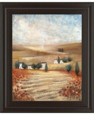 Hilltown Lanscanadian Art Prints Inc. E II by Rosie Abrahams Framed Print Wall Art, 22