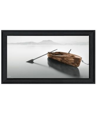 Solitude by Moises Levy, Ready to hang Framed Print, Black Frame, 39