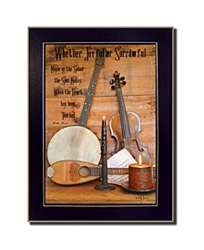 Trendy Decor 4U Music By Billy Jacobs, Printed Wall Art, Ready to hang Collection