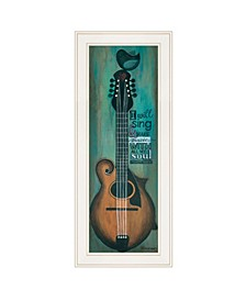Trendy Decor 4u I Will Sing by Tonya Crawford, Ready to Hang Framed Print Collection