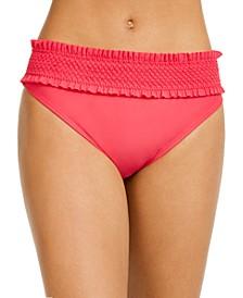 Smocked Bikini Bottoms