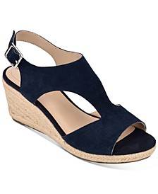 Natasha Espadrille Wedge Sandals