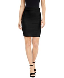 Bandage Mini Skirt, Created for Macy's