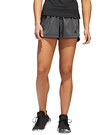 Pacer 3 Stripe Woven Women's Short
