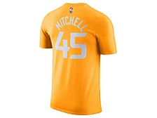 Men's Utah Jazz 2019 Men's City Edition Name and Number T-Shirt DONOVAN MITCHELL