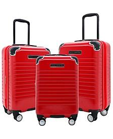 3-Pc. Ringside Expandable Hardside Luggage Set
