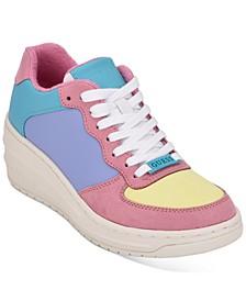 Rillie Low Wedge Sneakers
