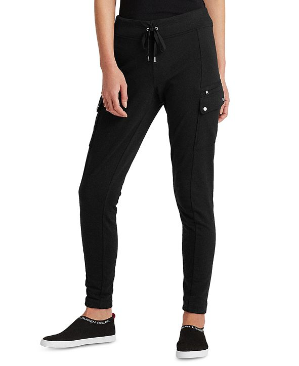 Lauren Ralph Lauren Stretch-Cotton Lounge Pants
