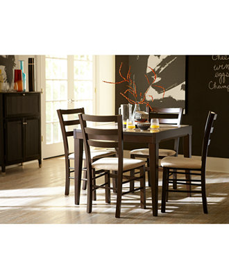 Café Latte Dining Room Furniture Collection, Created for Macy\'s ...