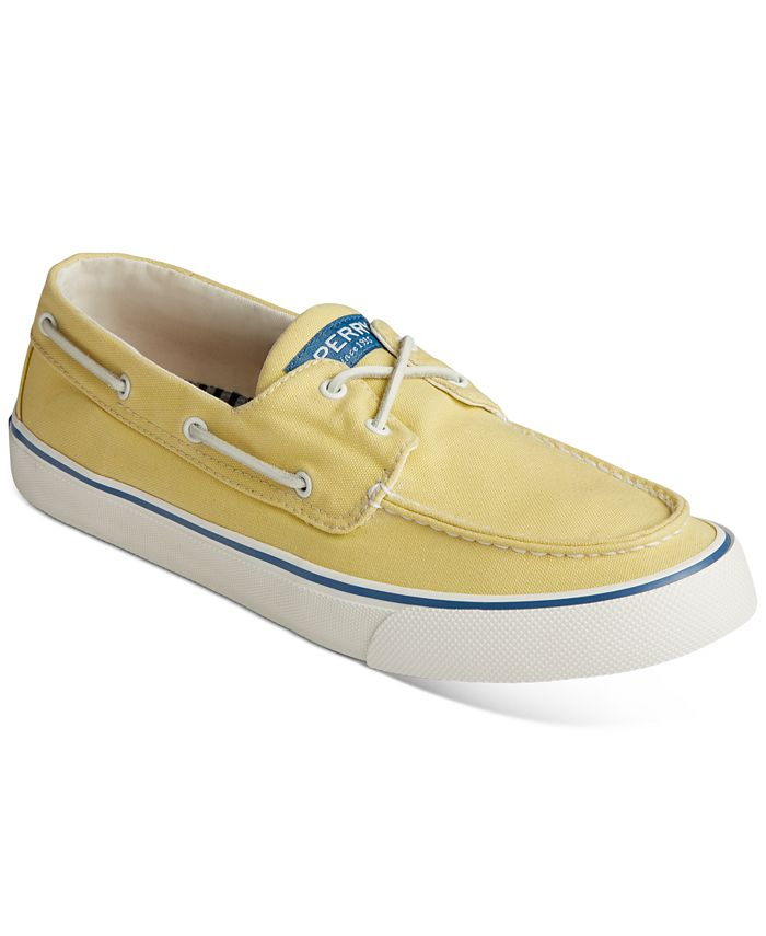 Sperry - Men's Bahama II Kick Back Canvas Boat Shoes
