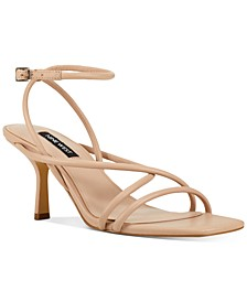 Nolan Barely-There Strappy Sandals