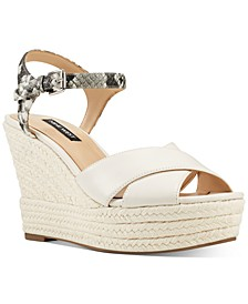 Dane Platform Espadrille Wedge Sandals