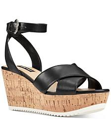Dureen Platform Wedge Sandals
