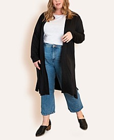 Women's Plus Size Super Soft Duster