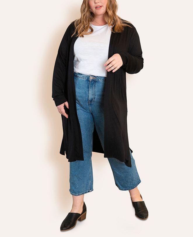 Ori Women's Plus Size Super Soft Duster