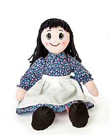 "Officially Licensed Little House On The Prairie 18"" Charlotte Rag Doll"