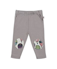 Baby Girls Hot Air Balloon Patch Trouser
