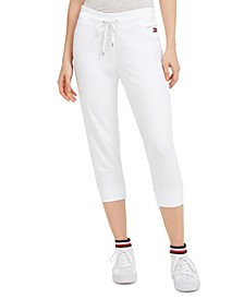 Signature Slim-Leg Capri Pants