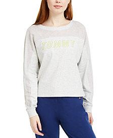 Tommy Hilfiger Sport Mesh-Yoke Sweatshirt