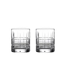 Cluin Double Old Fashioned Glasses, Set of 2
