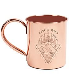 Keep It Wild 14oz Copper Enamel-Lined Mug
