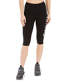 Logo High-Waist Capri Leggings
