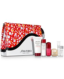 Choose your FREE 7-pc gift with $75 Shiseido purchase (Up to a $102 Value!)