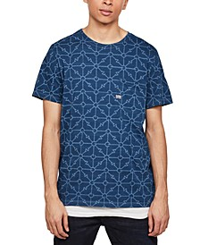 Men's Geometric Print T-Shirt, Created for Macy's