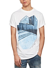 Men's Lash Building Graphic T-Shirt, Created for Macy's