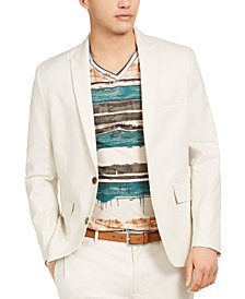 INC Men's Big & Tall Linen Jasper Blazer, Created for Macy's