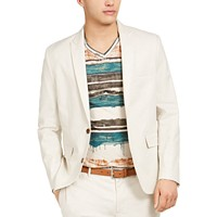 INC Mens Slim-Fit Linen Jasper Blazer