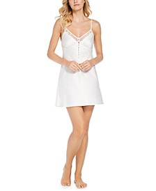 INC Button Detail Chemise Nightgown, Created for Macy's
