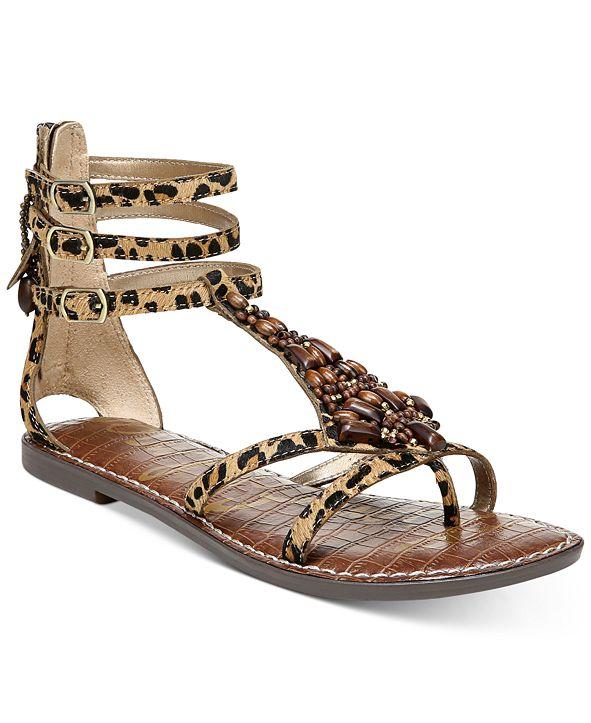 Sam Edelman Ginger Beaded Gladiator Sandals
