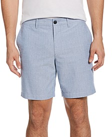 Men's Slim-Fit 8'' Inseam Oxford Shorts