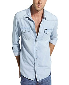 Men's Western Denim Shirt