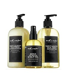 Mint Leaves Hair Therapy Trio