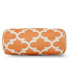 """Treis Decorative Round Bolster Pillow 18.5"""" x 8"""""""