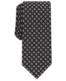 Men's Hill Geometric Necktie, Created for Macy's
