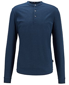 BOSS Men's Pal 08 Open Blue Polo Shirt