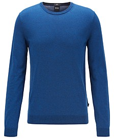 BOSS Men's Fabello Medium Blue Sweater