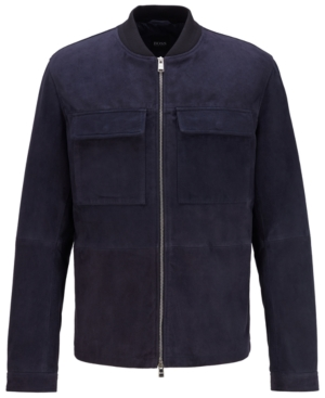 Boss Men's Afel Dark Blue Jacket
