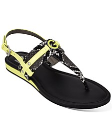 Jeeda Flat Sandals